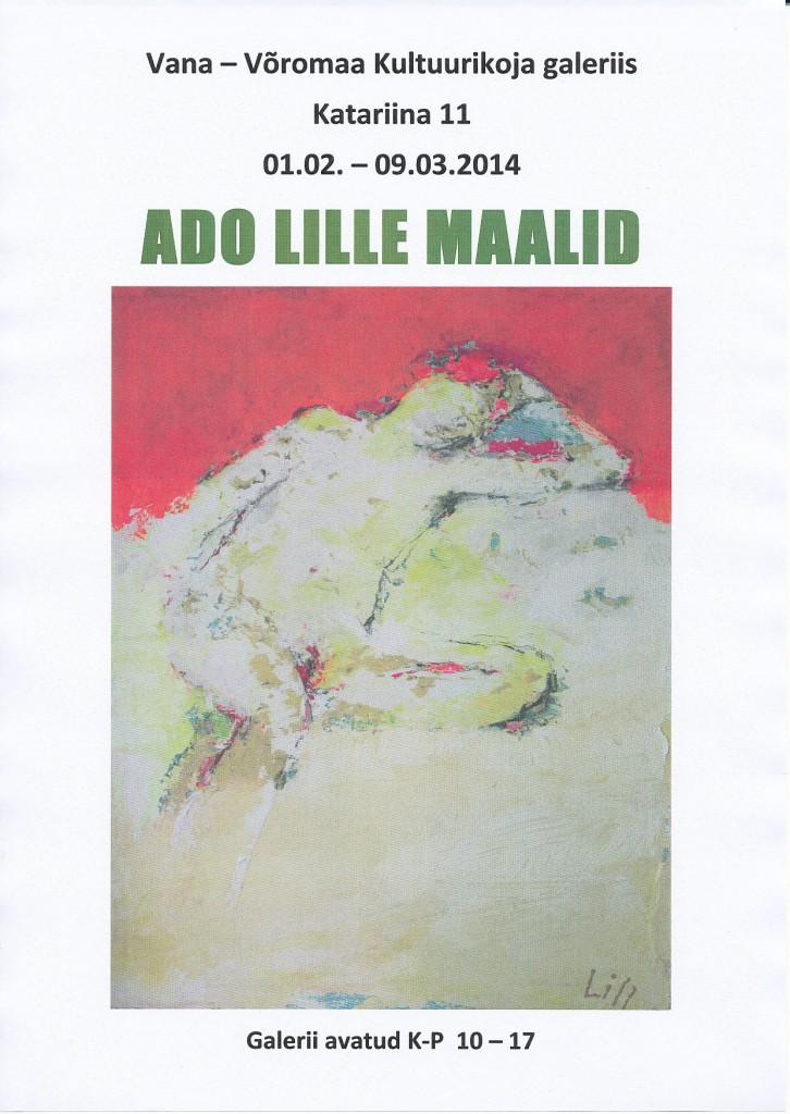Ado Lille maalid